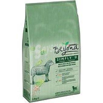 Beyond Purina Alimento de cordero perro simply nine bolsa 1,4 kg