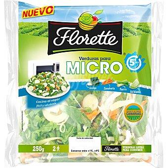 Florette Acelga-zanahoria colflor micro Bolsa de 250 g