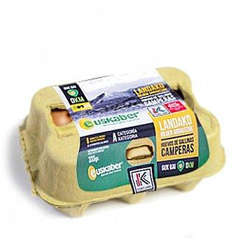 Huevos camperos Label 6 ud Blister 6 ud