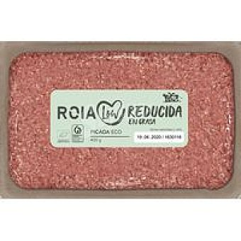 Roia Picada vacuno ecológica reduc. en grasa Bandeja 400 g