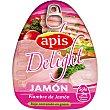 Fiambre de jamón delight Lata 200 g Apis
