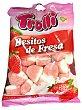 Gominolas fresa (besitos de fresa) Paquete 250 g Trolli