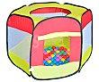 Área de juegos de tela con 100 bolas, 90x90x70cm., EXTERIOR. Juguete exterior