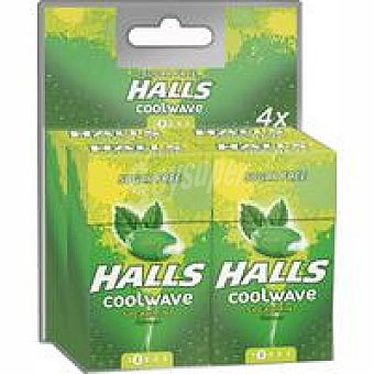 Halls Coolwave de menta Paquete 112 g