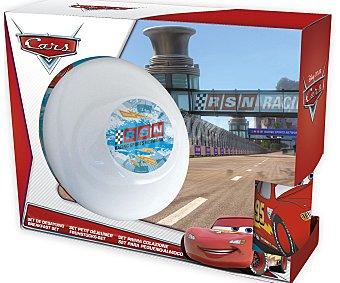 Disney Set de merienda de cerámica diseñado con ilustraciones de Cars Racing Sport 1 Unidad