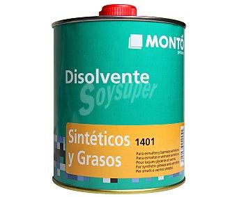 MONTÓ Disolvente Transparente Sintético y Graso a base de hidrocarburos alifáticos 750 Mililitros