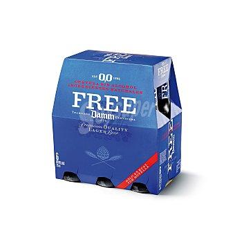 Free Damm Cerveza Sin Alcohol 6 botellines de 25cl