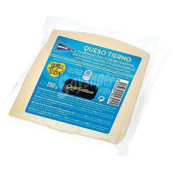 Hipercor Queso castellano tierno elaborado con leche pasteurizada cuña 250 g