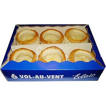 Eclair Volovanes caja 125 g 6 unidades