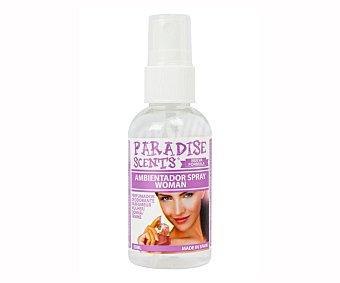 Paradise scents Ambientador coche spray con aroma woman