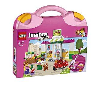 LEGO Juego de construcciones Maletín de Supermercado Juniors, 134 piezas, modelo 10684 1 unidad