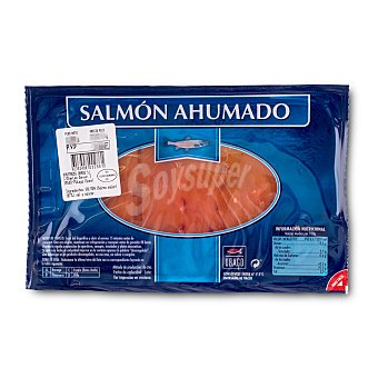 Ubago Salmon ahumado lonchas Paquete 100 g