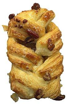LANTMANNEN Trenza de hojaldre rellena de crema con nueces pecan horno  90 g