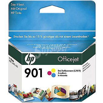 HP Nº 901 cartucho tricolor