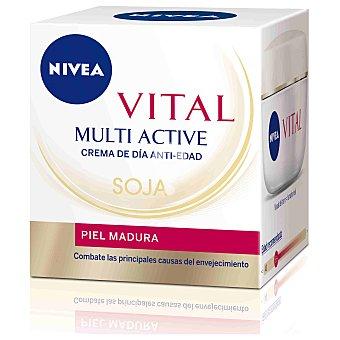 Crema facial con Acción de soja Vital para pieles maduras