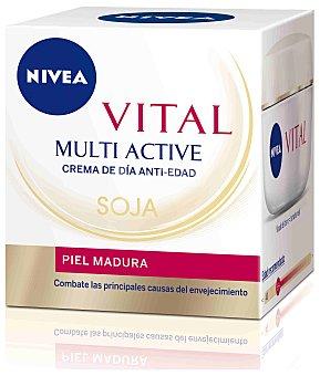 Nivea Crema facial T. Acciòn de soja Vital Tarro 50 ml