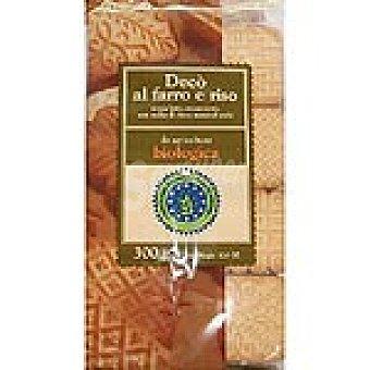 STAMP OF VENICE Galletas Deco biológicas de harina de espelta y arroz sin lactosa y sin huevo Envase 300 g