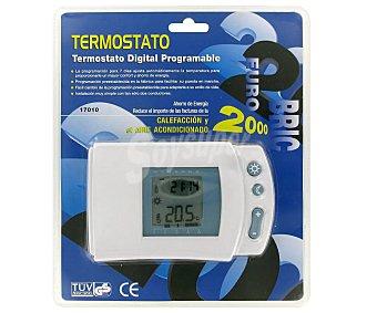 Eurobric 2000 Cronotermostato digital programable para calefacción y aire acondicionado 2000