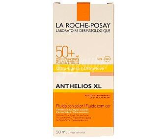 La Roche-Posay Crema solar con color y factor de protección 50 especial para alergias solares y piel sensible 50 mililitros