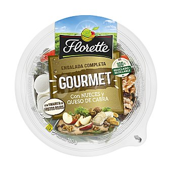 Florette Ensalada gourmet con nueces y queso de cabra Envase 180 gr