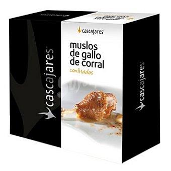 CASCAJARES Muslo de gallo de corral confitado Lata 900 g