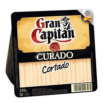 Gran Capitán Queso curado cortado cuña 210 g