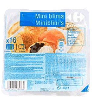 Carrefour Mini blinis 16 unidades (135 g)