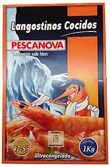 Pescanova Langostino congelado pelado cocido (descongelar y comer) Paquete 200 g