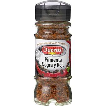 Ducros mix de pimienta negra y roja Frasco 45 g