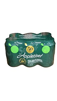 Appletiser Zumo manzana con gas Lata pack 6 x 330 cc - 1980 cc