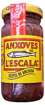 Anxoves de L´Escala Filetes de anchoa 55 g