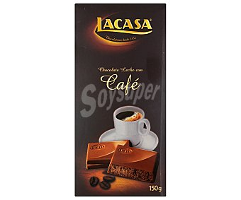 Lacasa Chocolate de café Tableta 150 g