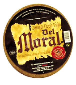 Queserias de Zamora Queso de oveja de leche cruda del moral 750.0 g.