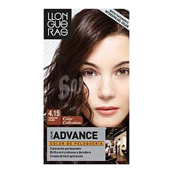 Llongueras - Advance Coloración permanente 4.15 Chocolate Helado 1 ud
