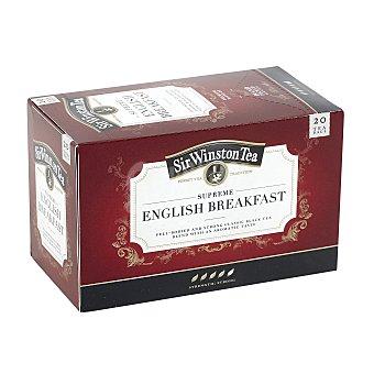 Sir wiston Té english breakfast Estuche 20 bolsitas