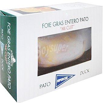 Hipercor Foie gras de pato entero mi cuit envase 250 g Envase 250 g