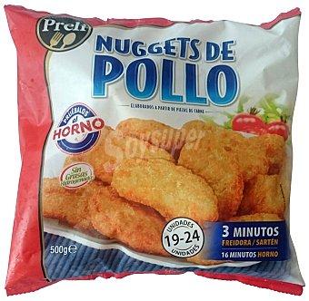PRELI NUGGETS POLLO CONGELADO PAQUETE 500 g