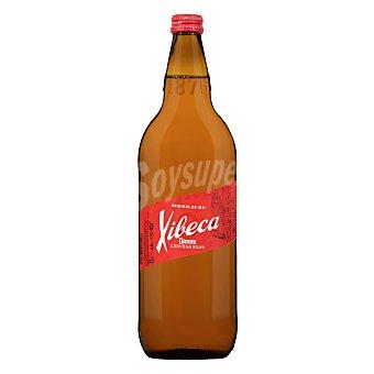 Xibeca Cerveza rubia nacional Botella de cristal 1 l