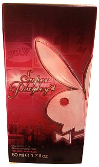 Playboy Fragrances Fragancia floral para mujer Super 50 mililitros
