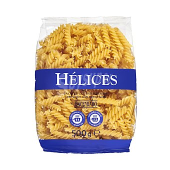 Hacendado Helices pasta Paquete 500 g