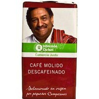 Intermón Oxfam Café natural descafeinado Paquete 250 g