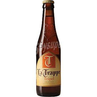 LA TRAPPE triple cerveza rubia holandesa  botella 33 cl