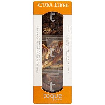 Toque Especias para cócteles selección de 3 botánicos para Cuba Libre Estuche 57 g