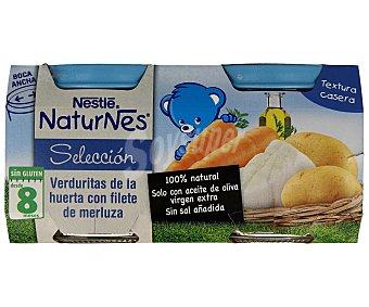 Naturnes Nestlé Tarrito Nestlé naturnes Selección Verduritas con Merluza 2 unidades de 200 g