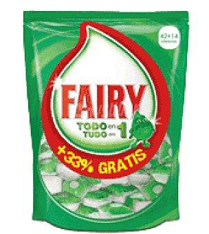 Fairy Lavavajillas maquina ultracap pastilla 45 ud