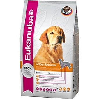 EUKANUBA GOLDEN RETRIEVER Alimento completo para perros adultos de raza golden retriever Bolsa 2,5 kg