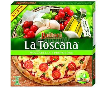 Buitoni Pizza toscana con mozzarella y provolone 350 gramos