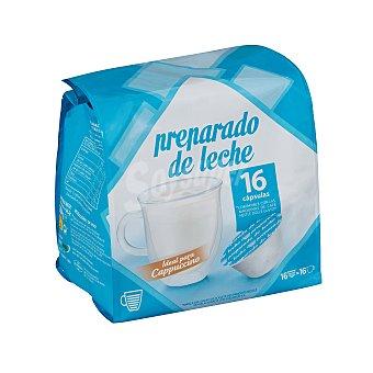 Cocatech Preparado leche capsula (compatible cafetera dolce gusto*(marca de grupo societe des produits nestle, sa. no relacionada con cocatech,sl.)) Caja 16 u
