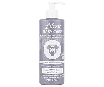 E'lifexir Body milk dermatológico sin gluten, para pieles sensibles y con tendencia atópica baby care 400 ml
