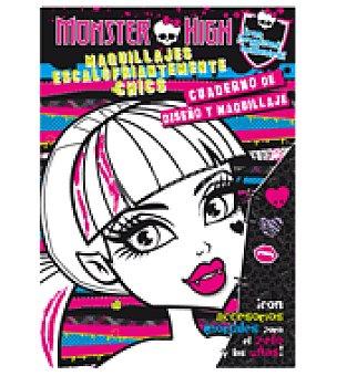 Monster High Actividades. maquillajes escalofriantes